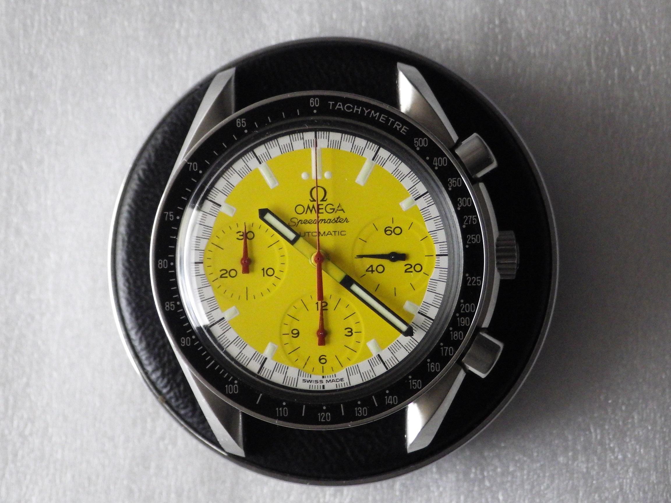 オメガ スピードマスターシューマッハモデル98年限定 3510-12 CASE#879