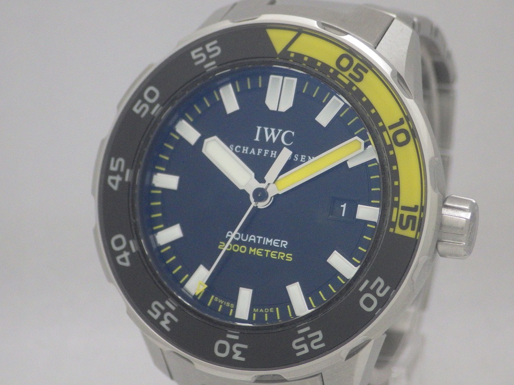 IWC アクアタイマー IW356808 CASE#4121