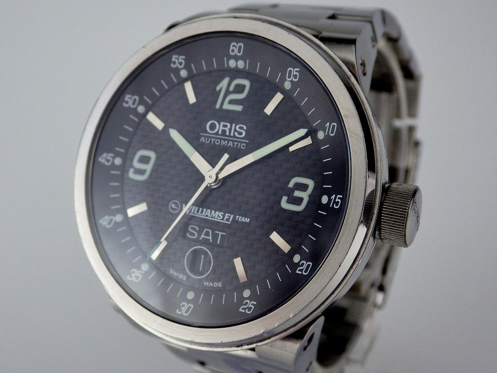 オリス ウィリアムズ F1チーム デイデイト 7560 CASE#5646