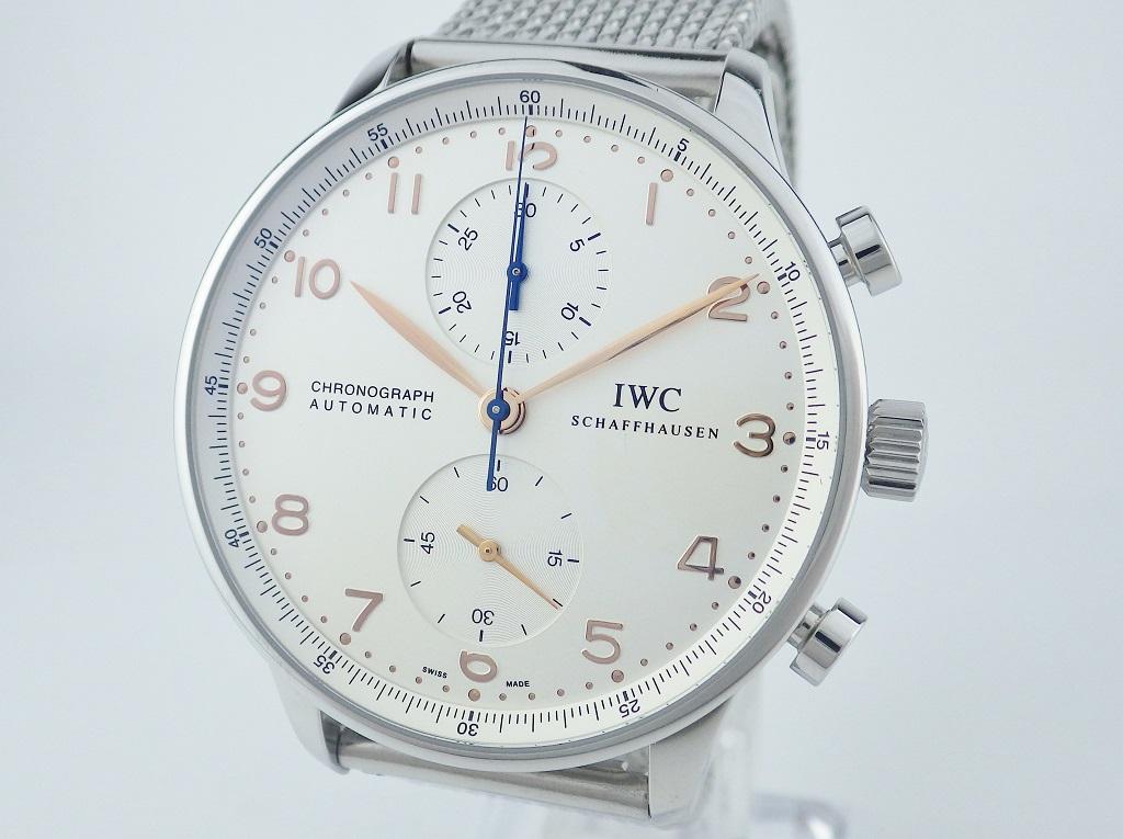 IWC ポルトギーゼ クロノグラフ IW371401 CASE#6992