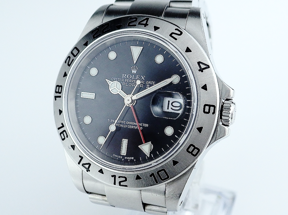 ロレックス エクスプローラーⅡ 16570 CASE#7449
