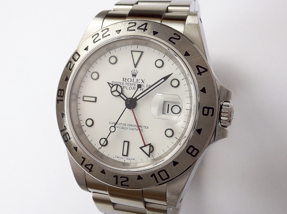 ロレックス エクスプローラーⅡ 16570 CASE#8456