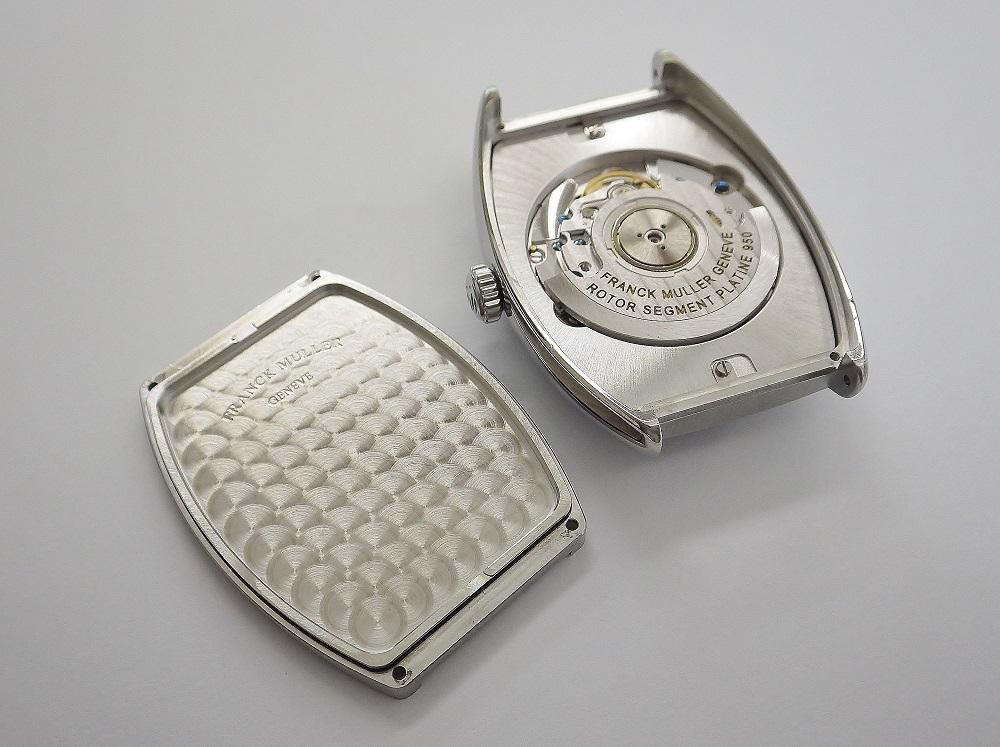 時計修理技術者コラムVol.11 裏蓋ねじ(ビス)止め式のよくあるトラブル~フランクミュラー編~
