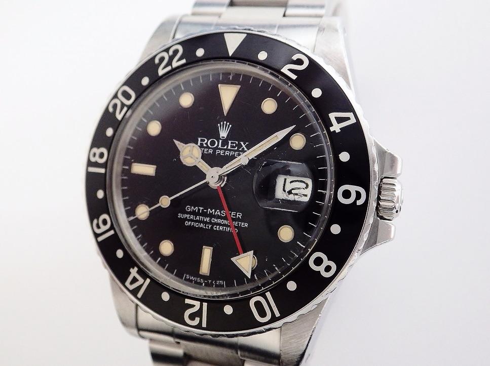 ロレックス GMTマスター 16750 CASE#9737