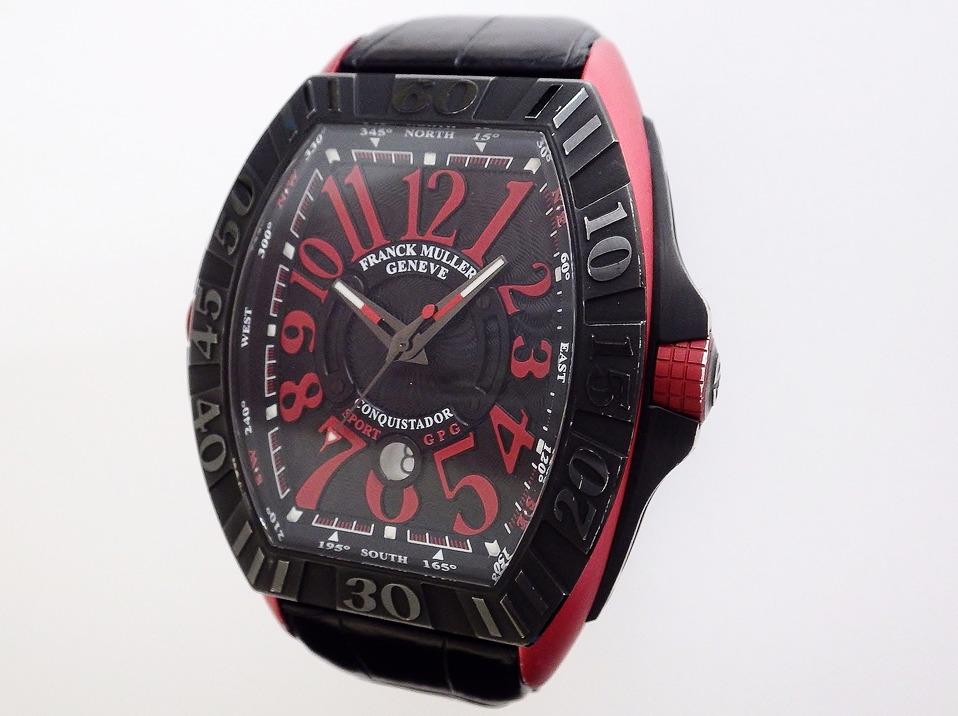 フランクミュラー コンキスタドールグランプリ 9900SCDT CASE#10787