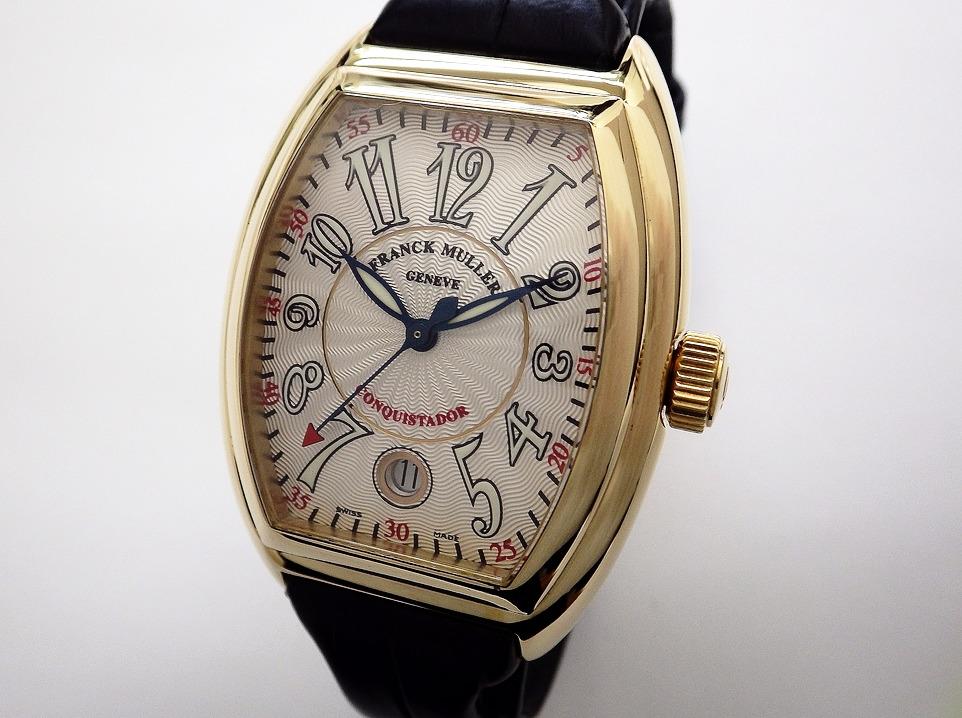 フランクミュラー コンキスタドール 8005SC CASE#10901